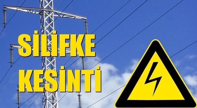 Silifke Elektrik Kesintisi 18 Eylül Cumartesi