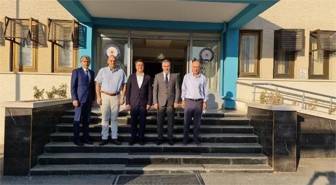 Başkan Murat Kaya Arsus Emniyet Müdürlüğü Görevine Atanan Ebubekir Fil'i Ziyaret Etti