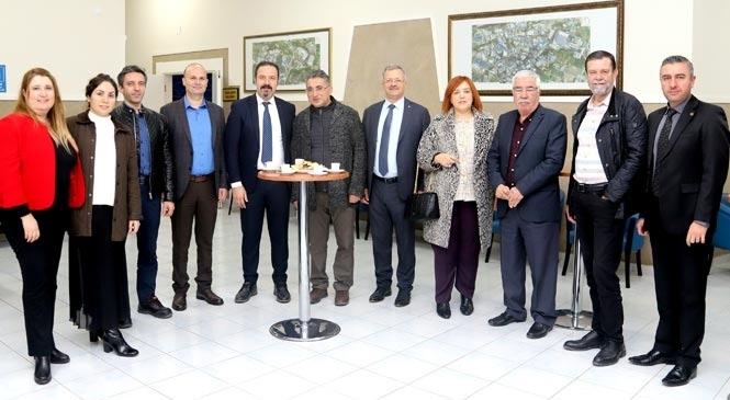 Mersin Tarsus Organize Sanayi Bölgesinde 2020 Yılı Sanayici Bilgilendirme Toplantısı Yapıldı