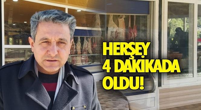 Tarsus'ta Meydana Gelen Hırsızlık Olayında, Dört Dakikada 200 Kg Eti Çaldılar