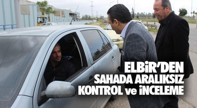 Tarsus'ta Corona Tedbirleri İlçe Emniyet Müdürlüğüne Bağlı Ekipler Tarafından 7/24 Aralıksız Sürüyor