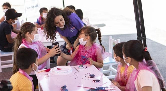 """Mersin Büyükşehir'den """"Dünya Çocuk İşçiliğiyle Mücadele Günü""""Nde Farkındalık Etkinliği"""