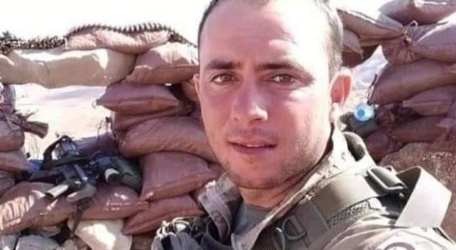 Mersin Tarsuslu Asker Görev Yaptığı Şırnak'ta Vefat Etti