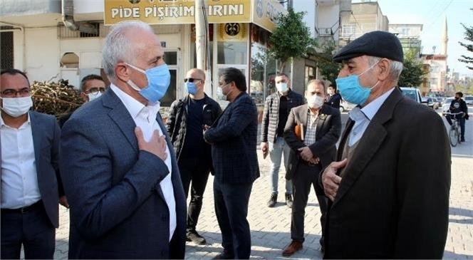 """Akdeniz Belediye Başkanı Gültak; """"Akdeniz'in İlk Asfalt Plentini 2021'in İlk Çeyreğinde Hayata Geçireceğiz"""""""