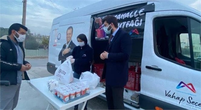 """Ali Boltaç: """"Büyükşehir Belediyemiz, 3 TL'ye 3 Çeşit Leziz Yemeği Vatandaşlarımıza Sunuyor"""""""