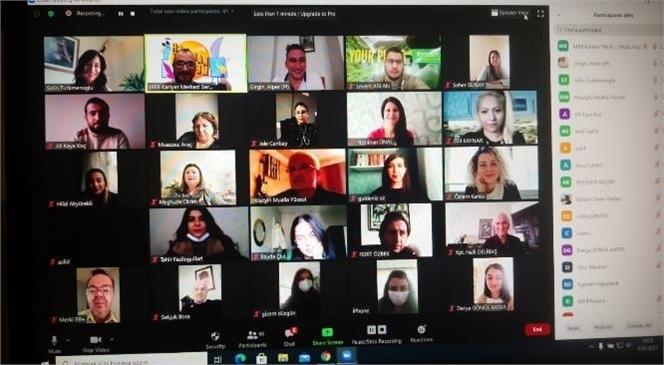 Büyükşehir'in Kariyer Merkezi İşgücü Piyasasıyla İletişimini Sürdürüyor