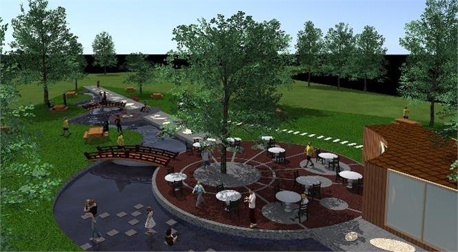 Erdemli Belediyesi Park ve Bahçeler Müdürlüğü, Arpaçbahşiş Mahallesinde Mesire Alanı Çalışmalarına Başladı.