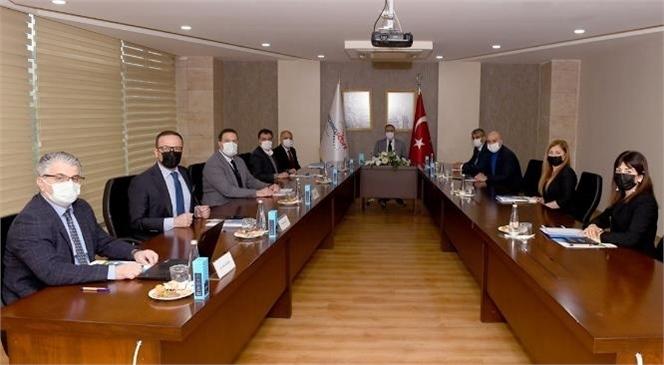Teknopark Yönetim Kurulu Vali Su Başkanlığında Toplandı