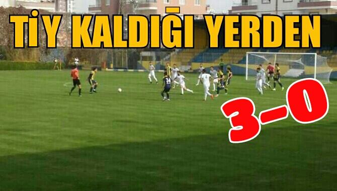 Tarsus İdmanyurdu- Sultanbeyli Belediyespor Maçının Özeti